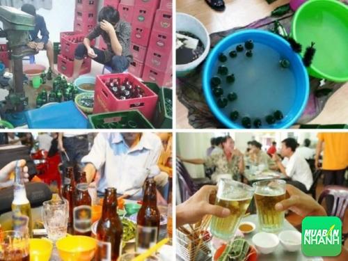 Cảnh báo hàng giả - Bia giả gây hại sức khỏe tràn lan trên thị trường