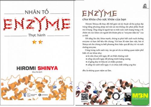 Download sách nhân tố Enzyme thực hành PDF, 580, Ngọc Diệp, Cẩm Nang Sức Khỏe, 30/07/2021 16:42:05