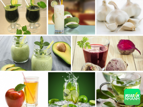 Giải độc gan trong tích tắc với 8 loại thức uống đơn giản, 325, Phương Thảo, Cẩm Nang Sức Khỏe, 31/10/2016 09:35:53